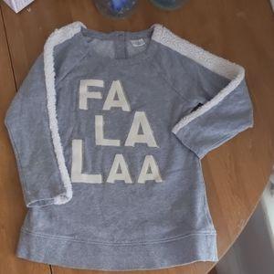 Toddler girl FA LA LAA sweatshirt GAP